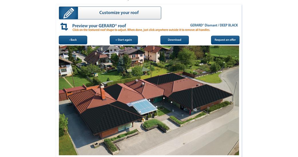 Podívejte se, jak bude Váš dům vypadat se střechou GERARD!