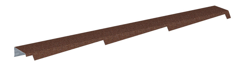 Štítová lišta profilovaná DIAMANT výška 50 mm pravá